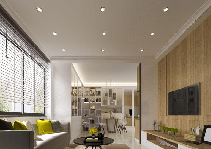 Living Room Downlights