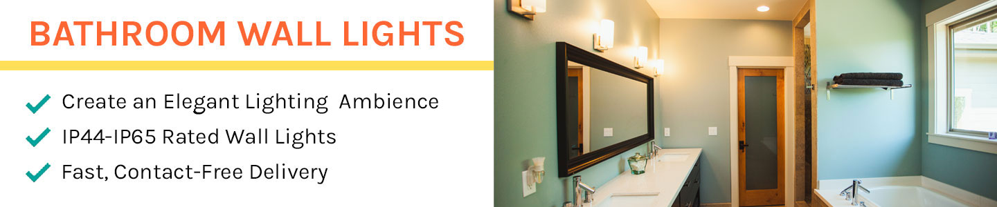 Bathroom Wall Lights & Mirrors
