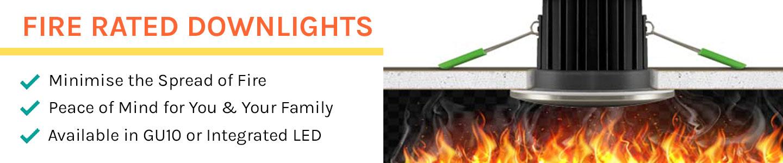 Downlights con clasificación de fuego