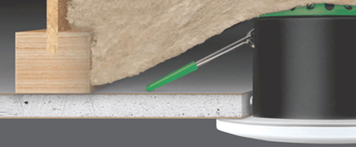 Insulation Coverable Downlights