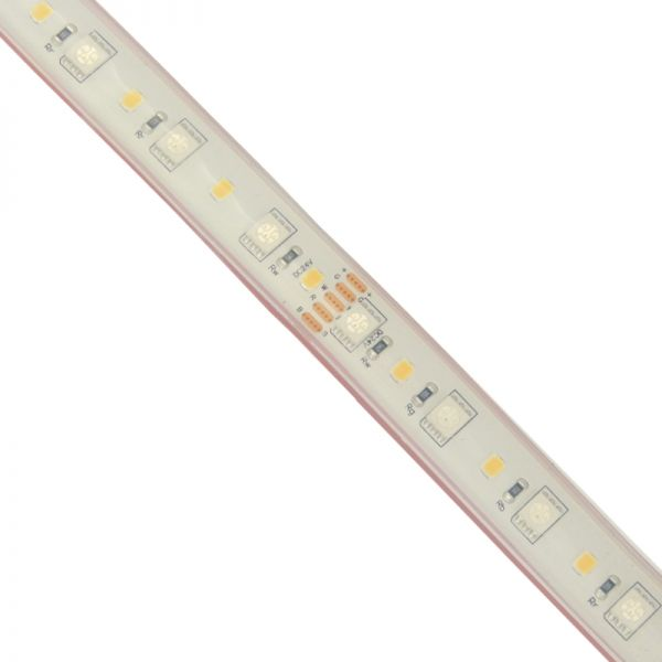 LED Strip RGB+W (RGB+Cool White) 96 LEDs /M 23W High Output IP68