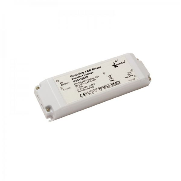 PowerLED Triac Dimmable LED Driver 50W 12V DC