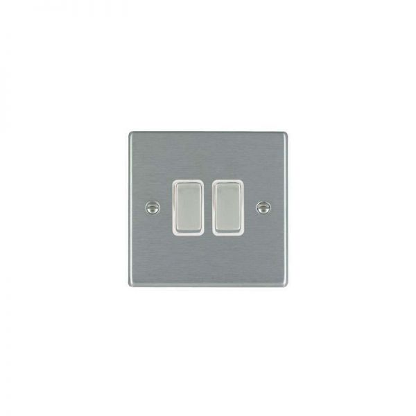 Hamilton LiteStat 2G 2 Way Rocker Switches Hartland Satin Stainless