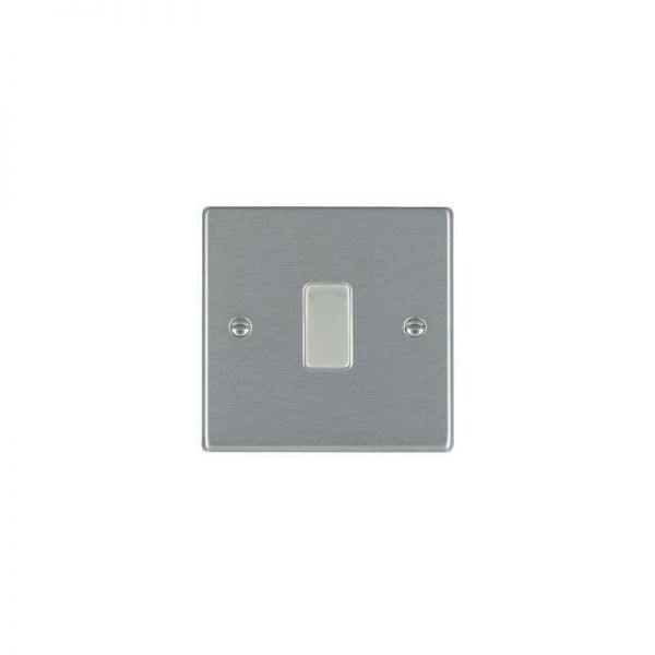 Hamilton LiteStat 1G Intermediate Rocker Switch Hartland Satin Stainless