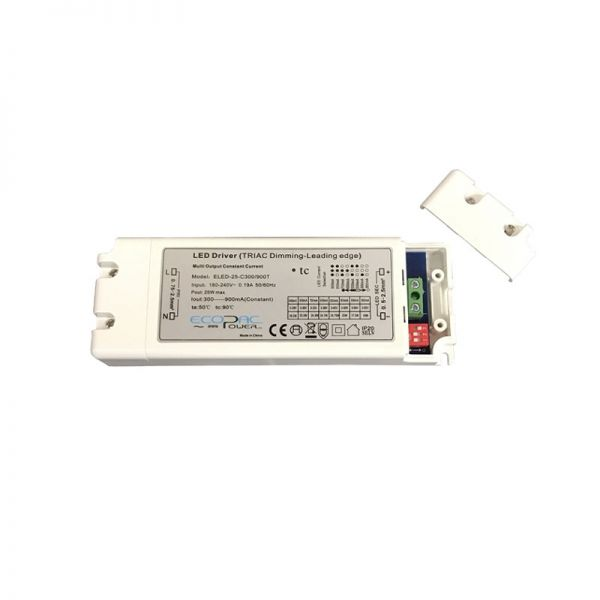 Multi Constant Current LED Driver 25W Triac Dimmable