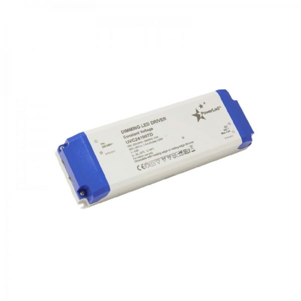 PowerLED Triac Dimmable LED Driver 100W 12V DC