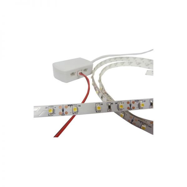 LED Strip With Pre-Terminated Input Connector 1.25M