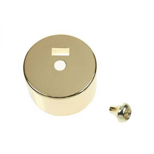 Decorative Cover And Pull Bell For PRC216 - Polished Brass