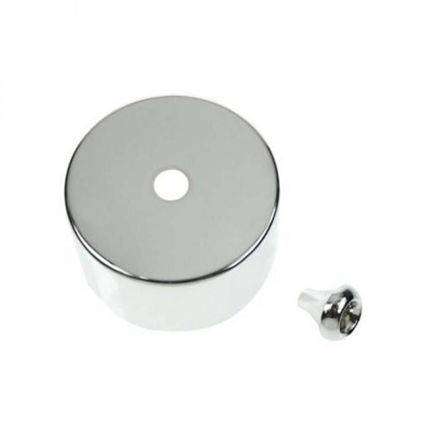 Decorative Cover And Pull Bell For PRC210 - Polished Chrome
