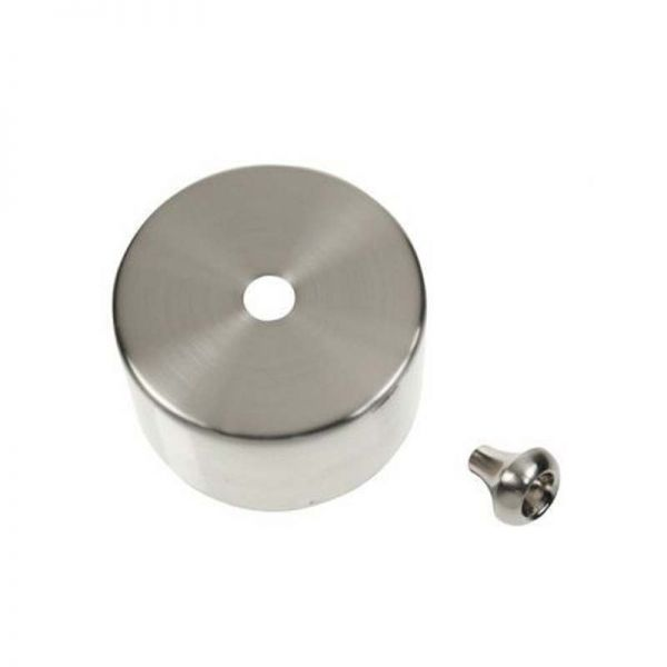 Decorative Cover And Pull Bell For PRC210 - Satin Chrome