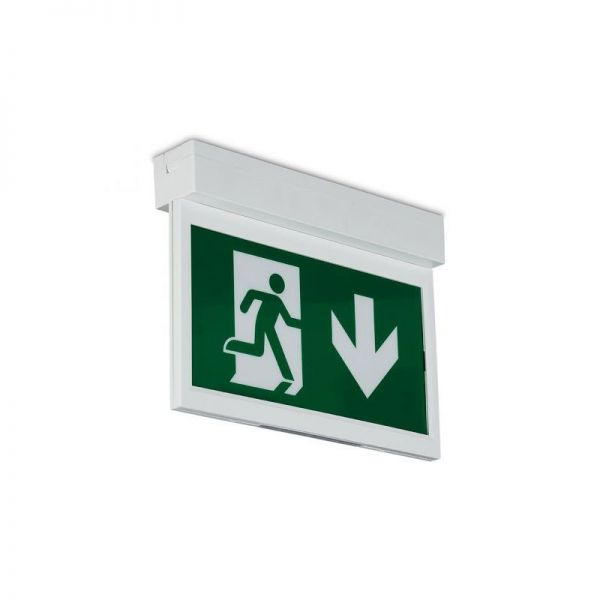 Collingwood Emergency Exit Blade Label Down
