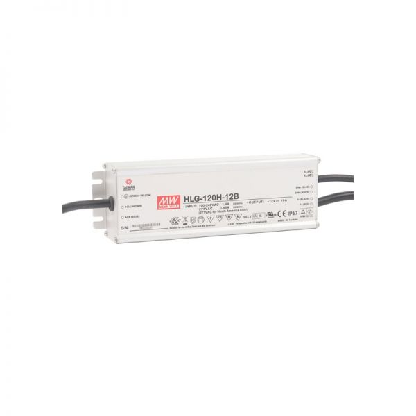 LED Dimmable Power Supply 120W 12V IP67