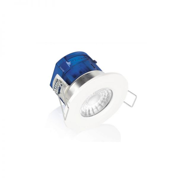 Aurora 7W IP65 Fire Rated Dimmable LED Downlight 3000K White