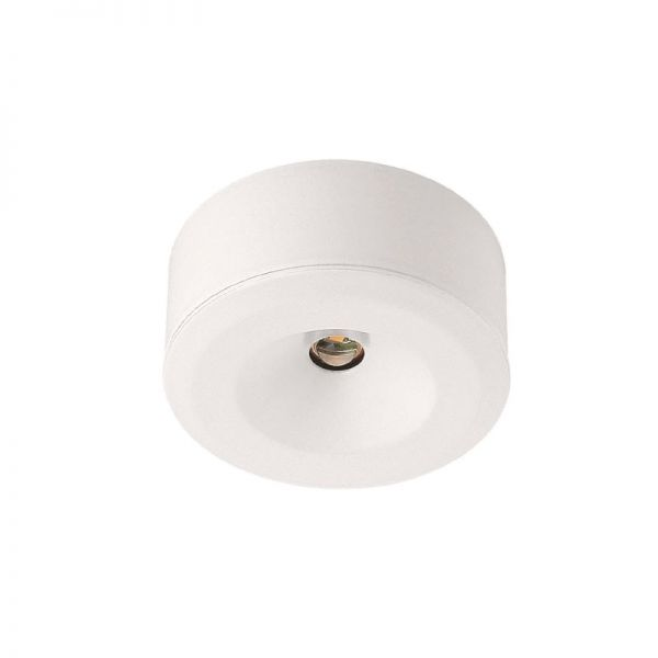Malmbergs Miniature LED Surface or Recessed Cabinet Light White