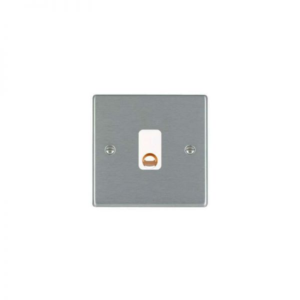 Hamilton LiteStat 20A Cable Outlet Hartland Satin Stainless