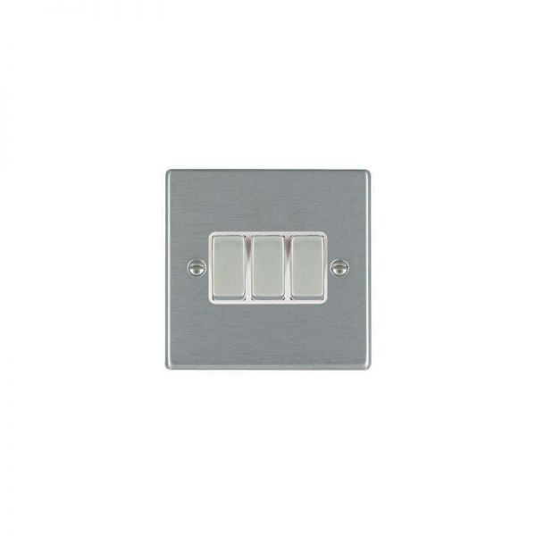 Hamilton LiteStat 3G 2 Way Rocker Switches Hartland Satin Stainless