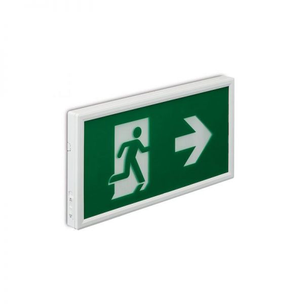 Collingwood Emergency Exit Box Label Right