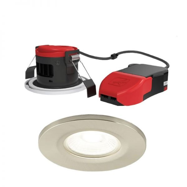 Fire Rated CCT LED Downlight Ansell Prism Pro