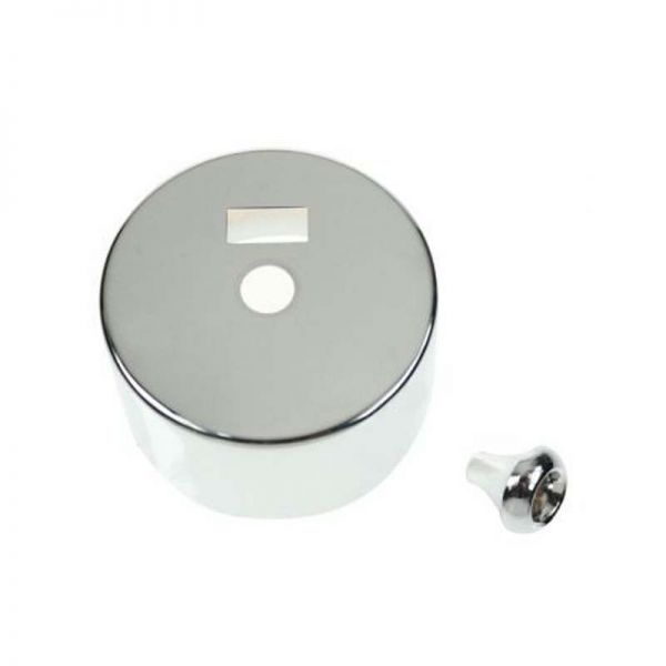 Decorative Cover And Pull Bell For PRC216 - Polished Chrome