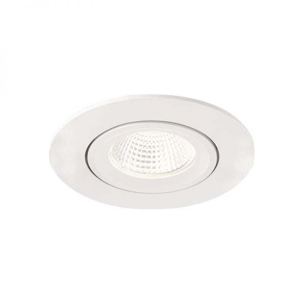 Malmbergs Compact LED Wall Wash Adjustable Downlights White