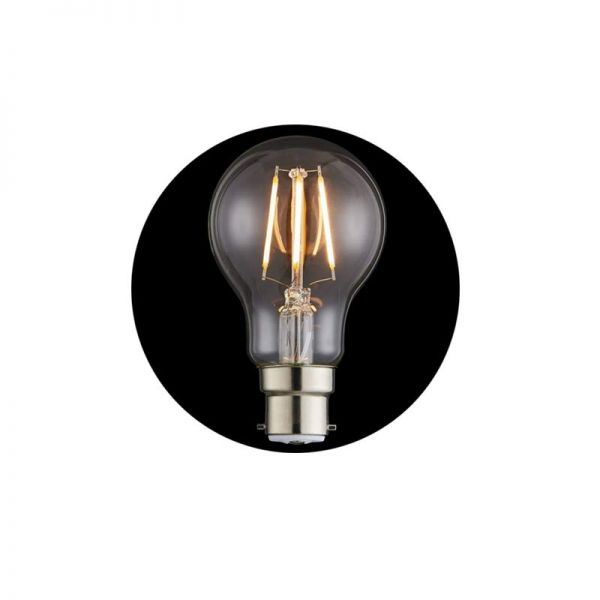 Forum Inlight 6W B22 GLS Dimmable LED Filament Lamp 3000K