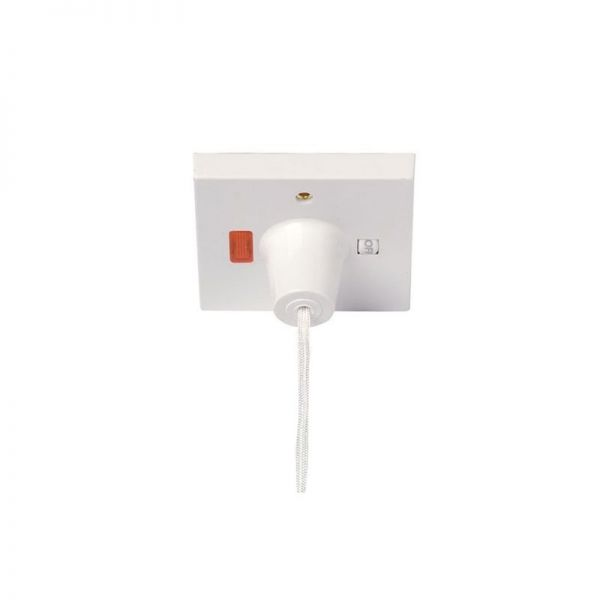 Click 45A Double Pole Pull Cord Switch