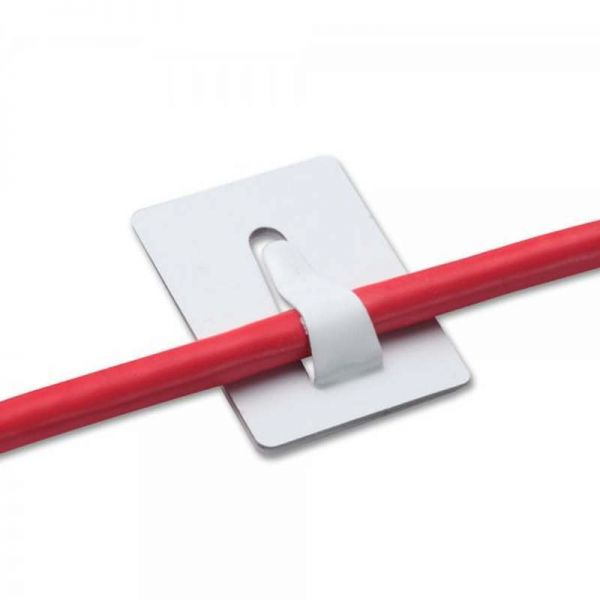 Self Adhesive Cable Clips Per 100