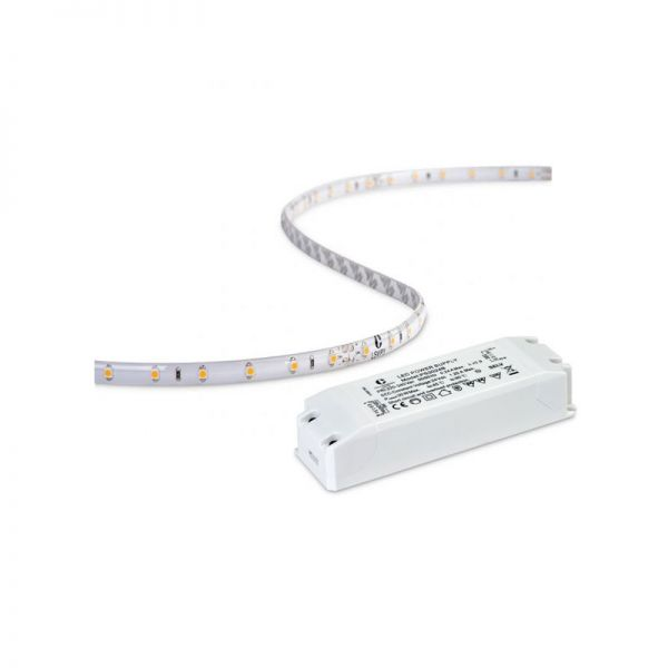 Collingwood 24W IP44 5M LED Strip Pack With IP20 Driver