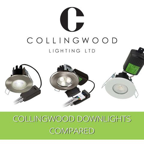 Collingwood Downlights Compared