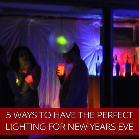 5 Ways To Have The Perfect Lighting For New Years Eve