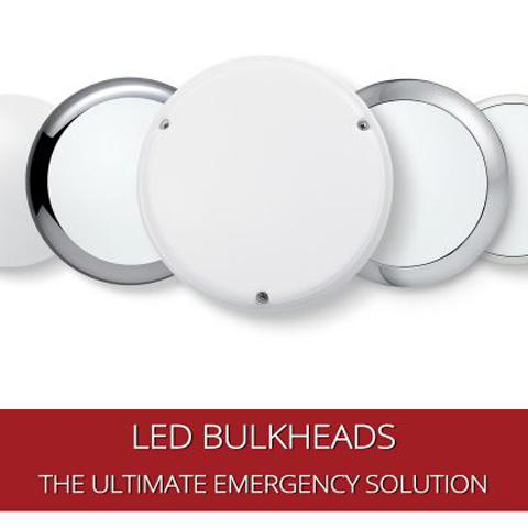 How LED Bulkheads Have Now Become THE Solution for Emergency Lighting