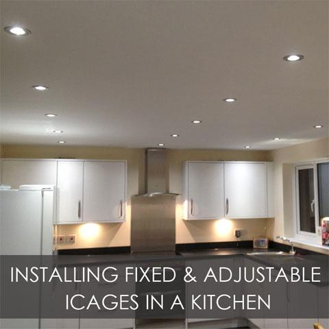 Installing Fixed & Adjustable iCages In A Kitchen