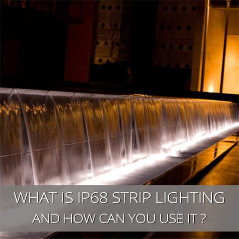 What is IP68 LED Strip Lighting and How Can You Use it?