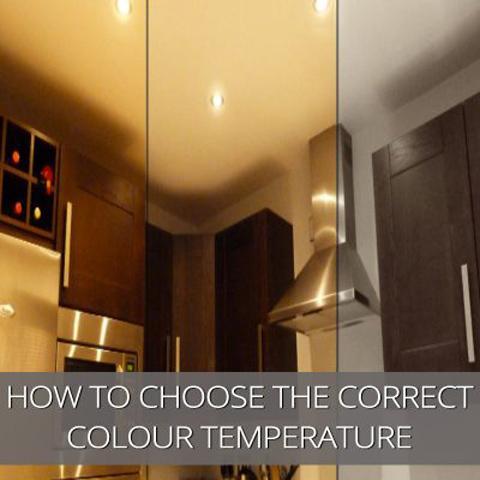 Cómo elegir la temperatura de color correcta
