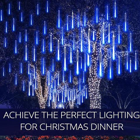 Cómo lograr la iluminación y decoración perfecta para la cena de Navidad