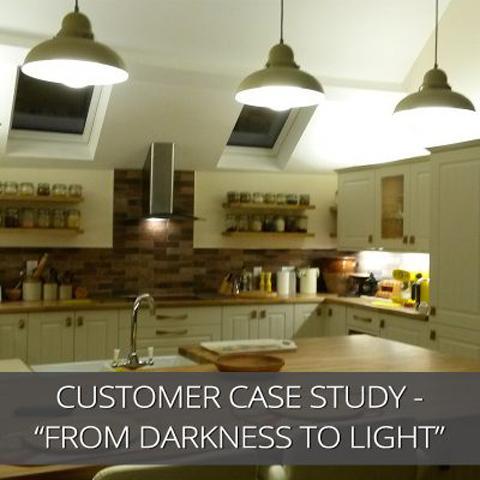 Estudio de caso del cliente: de la oscuridad a la luz