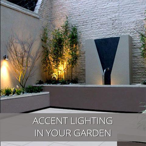 Accent Lighting In Your Garden