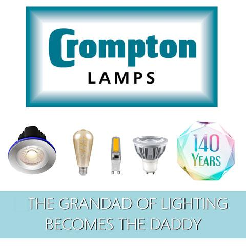 Crompton Lamps - The Grandad of Lighting Becomes the Daddy