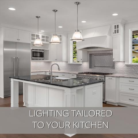 Iluminación de cocina de alta calidad adaptada a su cocina
