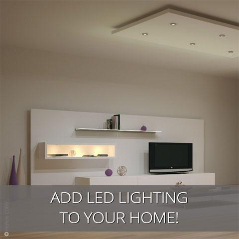 Use LED Ceiling Lights To Enhance Your Rooms