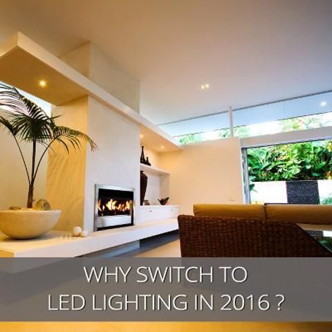 ¿Por qué cambiar a iluminación LED en 2016?