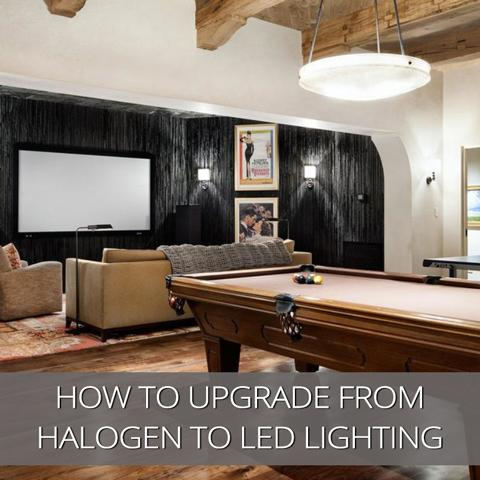 How To Upgrade From Halogen To LED Lighting