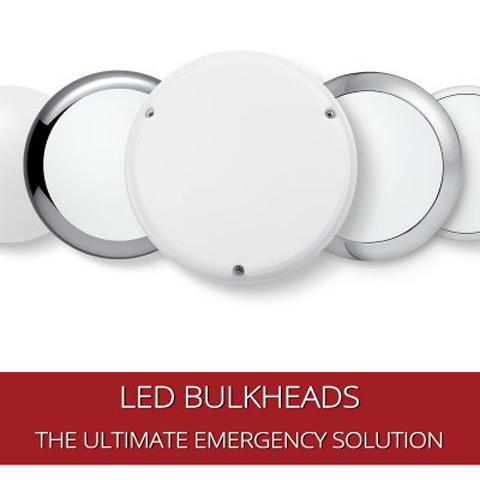 Cómo los mamparos LED se han convertido en la solución para iluminación de emergencia
