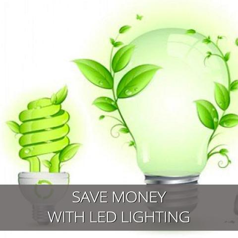 Ahorre dinero con iluminación LED