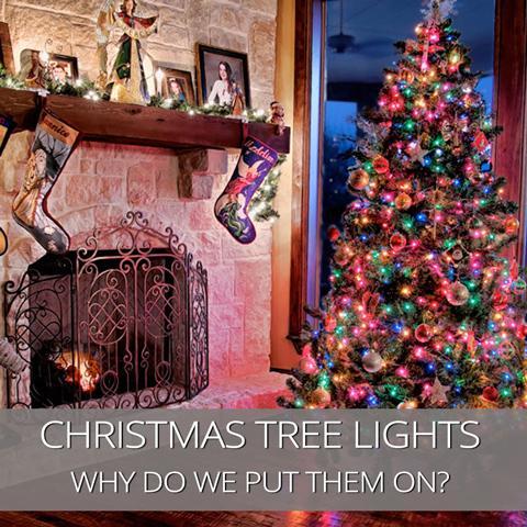 ¿Por qué ponemos luces en nuestro árbol de Navidad?