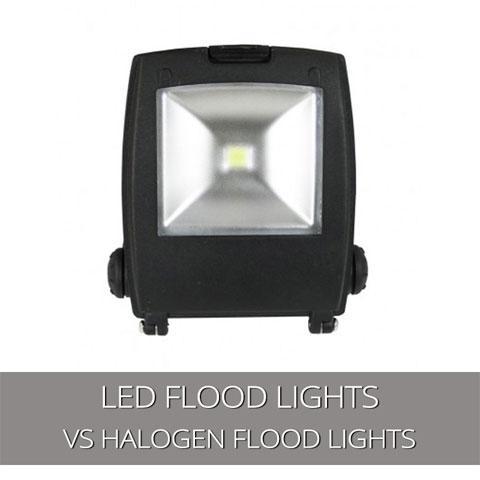 LED Flood Lights V Halogen Floodlights