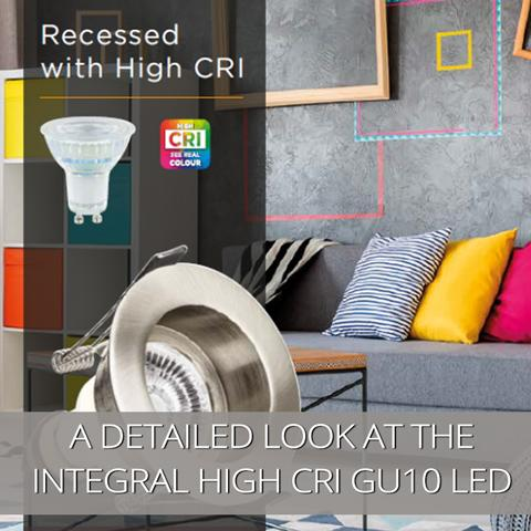 A More Detailed Look at the Integral Lighting High CRI GU10 LED