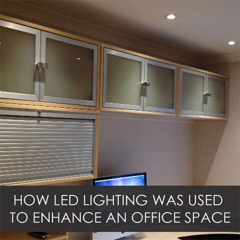 How LED Lighting Was Used To Enhance An Office Space