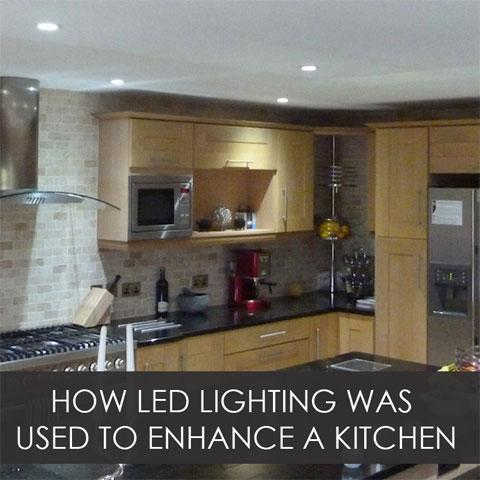 How LED Lighting Was Used To Enhance A Kitchen