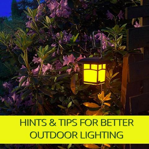 Consejos y sugerencias para una mejor iluminación en su jardín